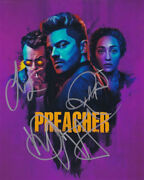 Preacher In-person Authentic Autographed Cast Photo By All 3 Coa Sha 40300