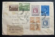 1959 Buenos Aires Argentina Cover To Manchester Ct Usa Stamp Centenary
