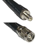 Lmr400uf Rp-sma Female To Rp-tnc Male Coaxial Rf Cable Usa-ship Lot