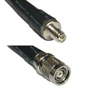 Rfc400uf Rp-sma Female To Rp-tnc Male Coaxial Rf Cable Usa-ship Lot