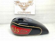 Gas Fuel Tank For Ajs M5 1929 Painted