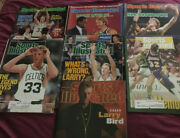 Sports Illustrated 1983 1984 1986 1988 1989 1992 1997 Lot Of 7 Issues Larry Bird
