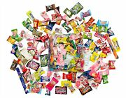 100 Piece Candy Asian Snack Japanese Chinese Korean Variety Tester Sample