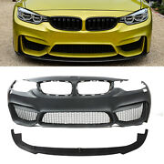 M4 Style Front Bumper Without Pdc For Bmw F32 F33 F36 4 Series 14-19