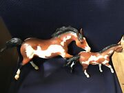 Rare Breyer Horses Great Spirit Mighty Eagle Pinto Paint Jc Penney Collectible