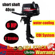 Outboard Motor 6 Hp 2-stroke Marine Boat Engine Cdi System Water Cooling Hangkai