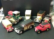 Various 1970s Matchbox Models Of Yesteryear And Ertl And Cars From 1930s
