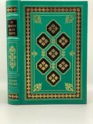 Signed 1st Edition Easton Press In Heaven As On Earth M Scott Peck Md Cancer