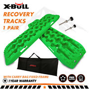 X-bull 3 Gen Recovery Tracks Snow Mud Track 4wd Tire Ladder Newest Green