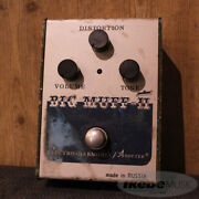 Electro Harmonix Sovtek Big Muff【used】639809 Pi Civil War Early90and039s Green Bottom
