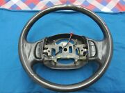 Oem Ford F-150 Expedition F150 Leather Steering Wheel 1997 - 03 Black