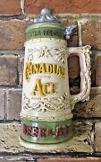 Vnt Canadian Ace Brand Brewing Co Beer And Ale Chicago Advertising Wall Chalkware