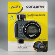 Orbit Conserve Digital Water Timer 1 Outlet - New Programmable
