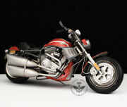 Vintage 1/8 Harley V-rod Motorcycle Diecast Desk Model Decor Toy Collectible New
