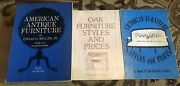 Lot Of Books Victorian Oak American Antique Furniture Styles And Prices 1970s 1937