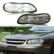 Front Clear Corner Lamps Headlights For 1997-03 Chevy Malibu 2004-05 Classic