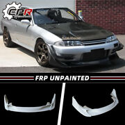 Frp For R32 Gtr Tbo Style Front Lip Will Fit On Standard Gtr Front Bumper Only