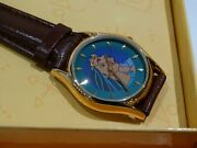 Disney Pocahontas Cast/crew Only Rare Collectible Watch In Box Animation Dept.