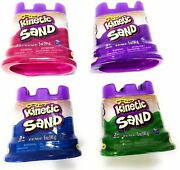 Kinetic Sand Neon Colors   Gift Set Of 4 Colors - Purple Blue Pink And Green...