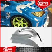 For Honda Civic Fd2 Epa Style Frp Wide Body Kit Front Fender Mud Guards Bodykits