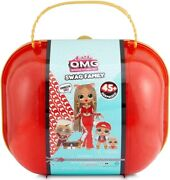 Lol Surprise Omg Swag Fashion Doll W/ Family Big Brother Sister Limited Ed. New