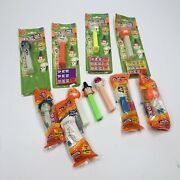 Lot Of 11 Collectible Halloween Pez Candy Dispensers - 11 Total Pieces Uu