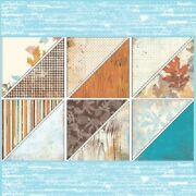 Rare New Stampin Up 12 X 12 Dsp Paper Autumn Meadows Fall Harvest