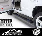 Amp Research Plug And Play Powerstep Running Boards For 19-21 Gm Sierra Silverado