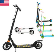 Pro Stunt Trick Scooter W/strong Aluminum Deck 3 Height Adjustable For Adult Kid