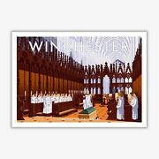 Winchester Cathedral Art Print By Stephen Millership