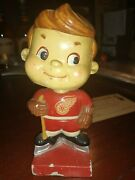 Vintage 1963 High Skate Detroit Redwings Bobblehead Made In Japan With Mail...