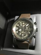 New Victorinox Swiss Army Infantry Automatic Chronograph 241520 Retail 1995