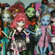List 5 Monster High Dolls Inc Some Original Accessories - Choose From Various