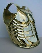 18 Gauge Brass Medieval Reenactment Muscle Cuirass Front And Back Breastplate Kp