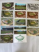 Large Lot Of 14 Vintage Chicago Illinois Postcards Wrigley Field