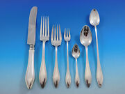 Mary Chilton By Towle Sterling Silver Flatware Set For 8 Service 62 Pieces