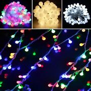 Led Ball String Lights Holiday Decorative Fairy Light Holiday Christmas Outdoor