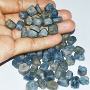 Natural Blue Sapphire Rough Top Quality 11mm-12mm Loose Collectible Gemstones