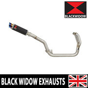 Triumph Tiger 800 Abs 2010-2020 Performance Exhaust System Round Silencer Cl23r