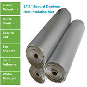 Heat Shield Insulation Sound Deadener Material -noise Kill Thermal Proof 28x39