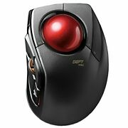 Elecom Mouse Wired/wireless/bluetooth Trackball Index Finger Medium-sized Ball 8