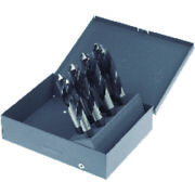 8 Piece Hss Silver And Deming Drill Set 1/2 Round Shank Mct 424r Marxman 81406
