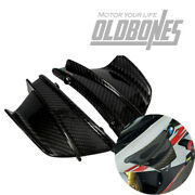 Usa Carbon Fiber Motorcycle Winglets Air Deflector For Bmw S1000rr 2015-2018