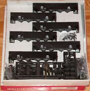 Walthers 932-49471 100 Ton Quad Hopper Kit 6-pack Bessemer And Lake Erie