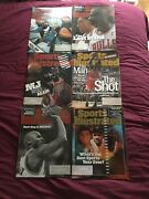 Michael Jordan Sports Illustrated 1998 Lot Of 6 Including 1 Special Double Issue