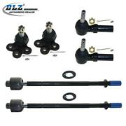 6x Lower Ball Joint Outer Inner Tie Rod End Kit For Buick Park Avenue 1997-2005