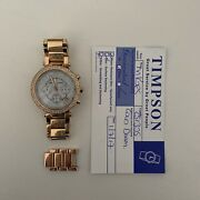 Mk5491 Rose Gold Ladies Wristwatch And Lifetime Battery Reppacemnt