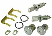 Keyed Alike Ignition Door And Trunk Lock Set 1974-1978 Firebird And Trans Am