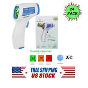 24 X Forehead Digital Thermometer Infrared Temperature Non Contact Fever Gun Lot