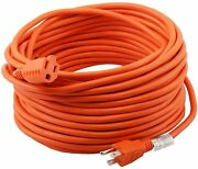 16/3 Outdoor Extension Cord 3 Conductor Heavy Duty For Indoor And Outdoor